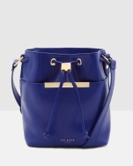 ted-baker-bright-blue-crosshatch-leather-mini-bucket-bag